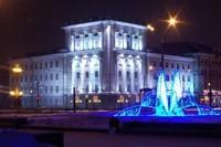 освещение фасадов в Омске