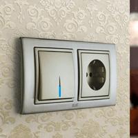 Установка выключателей в Омске. Монтаж, ремонт, замена выключателей, розеток Омск.